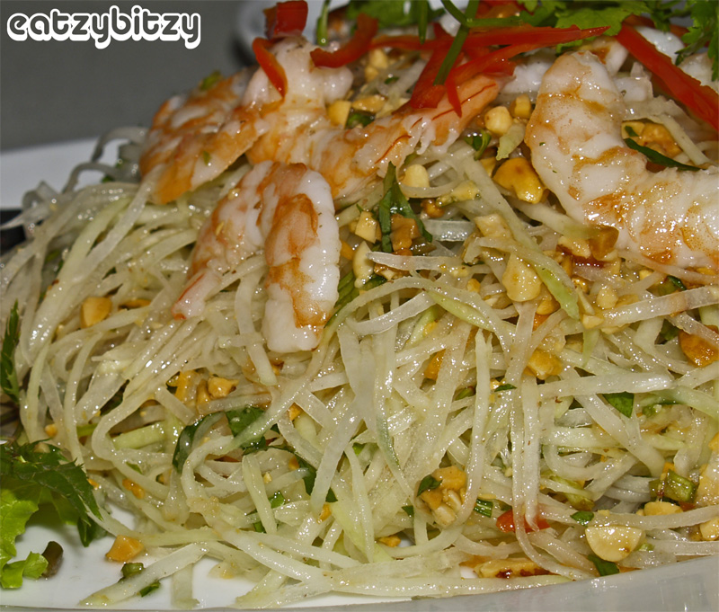 Green Papaya & Prawn Salad