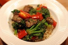 Fleisch/Gemüse