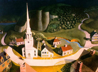 Grant Wood the_Midnight_Ride_of_Paul_Revere_1931