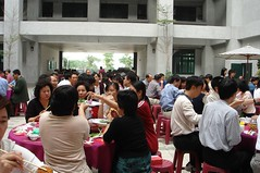 Some of the tables at the WeiYa