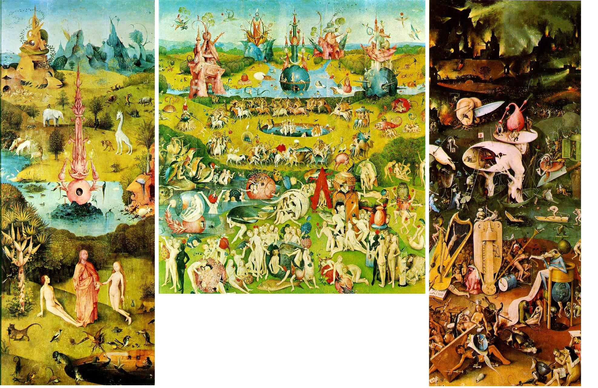 What 39 s the coolest painting pre 20th century for The garden of earthly delights