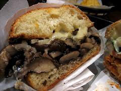 mushroom n cheese