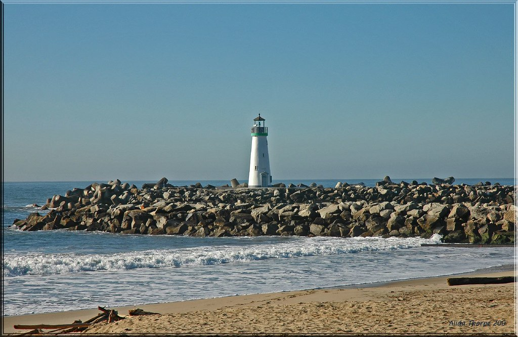 Twin Lakes State Beach Lighthouse