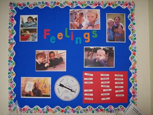 Feelings Classroom Displays