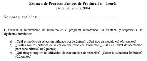 Examen 14-II-2004