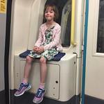 Amy's favourite tube seat<br/>15 Jul 2017