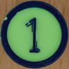 Colour Bingo green number 1