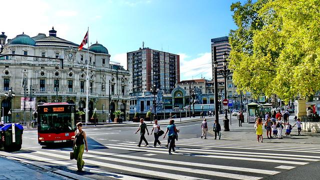 Bilbao a 27 grados
