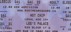 hotchip tickets