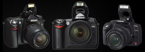 Nikon, Nikon, Canon