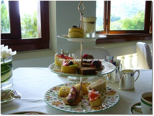 淺水灣酒店的英式下午茶