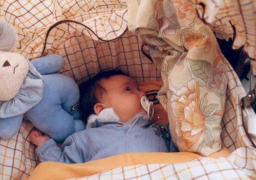 Zelie, drie maand oud