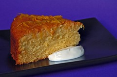 Greek Yoghurt, Honey and Orange Syrup Cake© by haalo