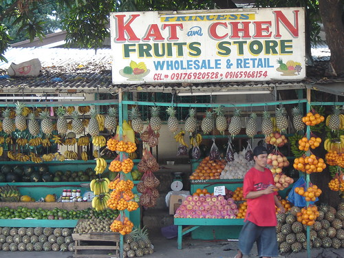 A Local fruit stand