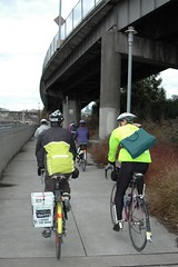 Community exchange bike club ride