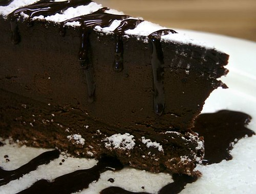 Chopper's Triple Chocolate Mousse Cake