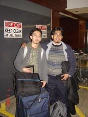Bersama Zaid kat Dublin Airport