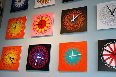 Happy Colour Clocks
