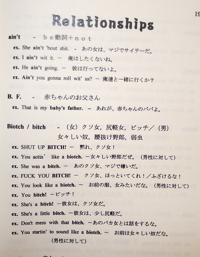 "OFF THE HOOK"", a Dictionary of African American Slang. In Japanese. A ..."