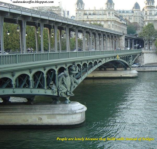 Bridges france river seine meera filter coffee series