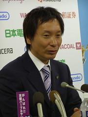 Kyoto Purple Sanga Coach Hashiratani