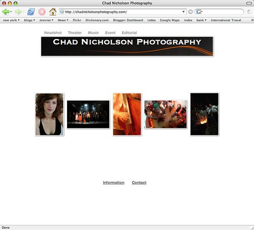 Chad Nicholson Photography - Beta 0.2