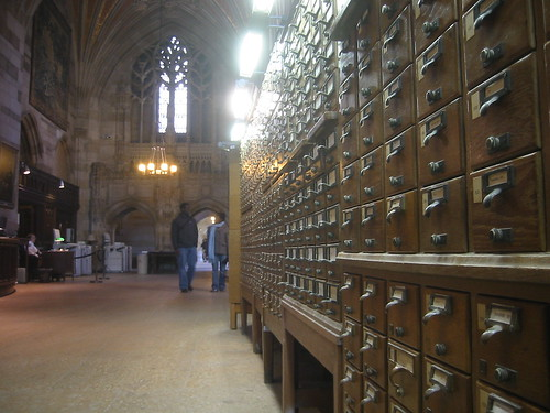 Mo' card catalogs