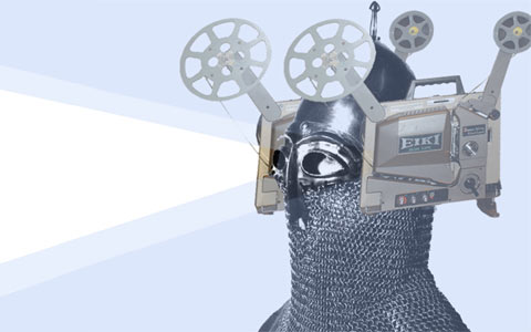 the cinema helmet