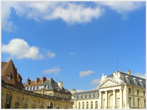 Ciel bleu Dijonnais
