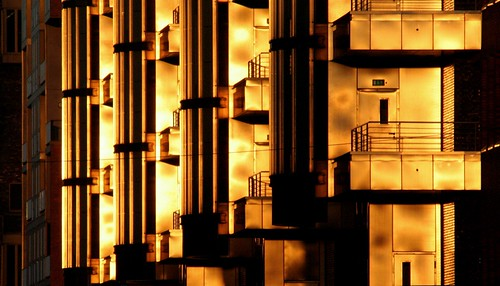 Hamburg: Wall of gold
