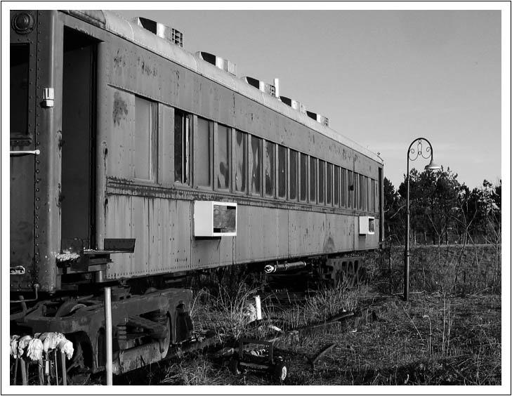 Old Cloverleaf Village Train