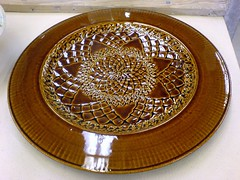 plate made by instructor Ken Turner