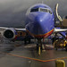 Southwest 737 At Burbank