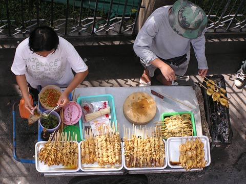 Satay at Chatuchuk