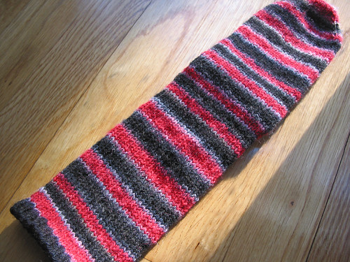 The Red and The black - sock 1 done!