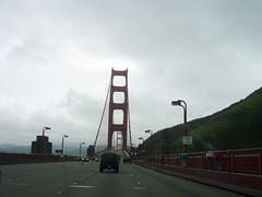 Anfahrt auf die Golden Gate Bridge
