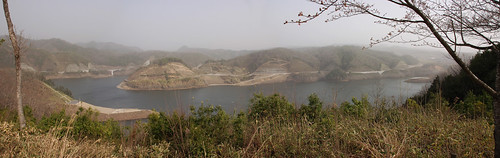HAIZUKA DAM*yellow dust