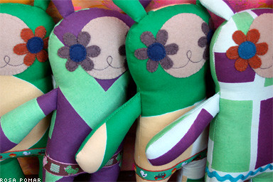 Rosa Pomar - Handmade Dolls from Portugal