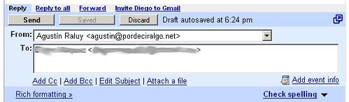 Google Calendar en Gmail (1)