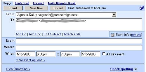 Google Calendar en Gmail (2)