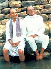 Dr.Raj with Ramaswamy