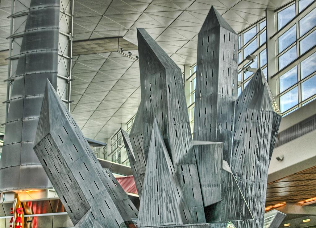 DFW International Terminal Scultpure