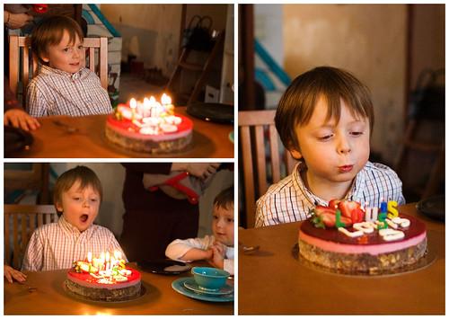 Louis' vijfde verjaardag