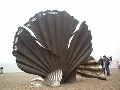 Britten sculpture