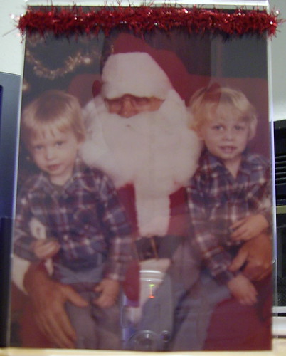 Brett, Chad, and Santa