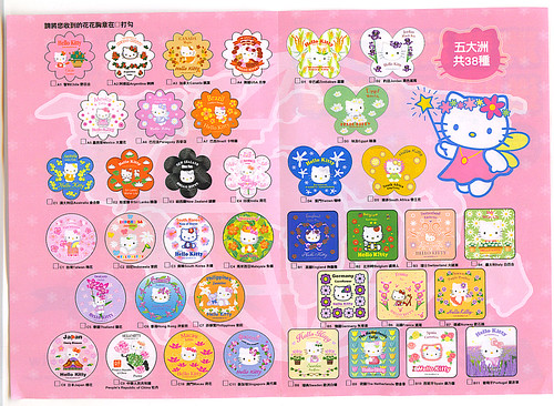hello kitty pins catalogue