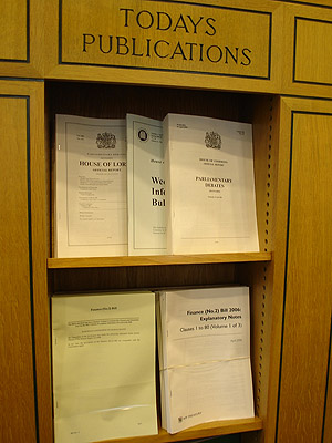 The Parliamentary Bookshop
