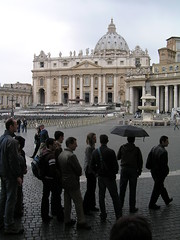St. Peter's Square, Holy Monday