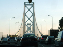 Bay Bridge traffic jam