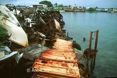 Lixo no atol de Majuro